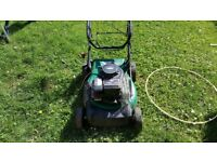 Qualcast petrol mower/briggs/spares or repairs