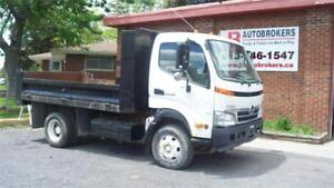 2009 Hino 155 Cab Over with 11' Dump Bed - Super Low Kms!