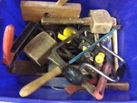 A great selection of hand tools