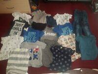Small bundle ov boys clothes