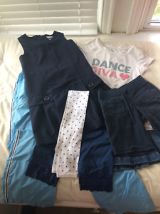 $7 for all pieces Girls' Size 7/8 Lot of Navy/White Clothing