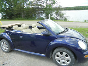 BEAUTIFUL SPORTY CONVERTIBLE VW , CERTIFIED, CAR PROOF