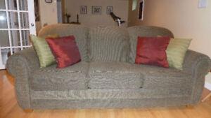 Sofa-Lit Ashton, 3 places, matelas aux ressorts inutilisé