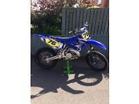 Yamaha yz250 2005 motocross mx bike