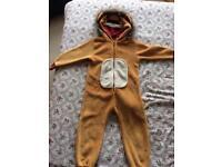 Children's lion onesie