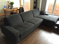 Couch/Sofa - 2 Piece L shape - Canada Water