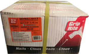 """Grip-Rite 3d 1-1/4"""" Drywall Nails for $23.99 (6030 50 Street)"""