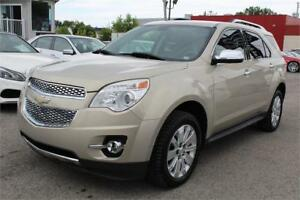 2010 CHEVROLET EQUINOX LTZ AWD, CAMERA, BLUETOOTH, CUIR, A/C