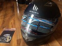 Motorbike flip helmet