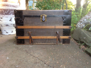 Antique Trunk/ Coffee Table