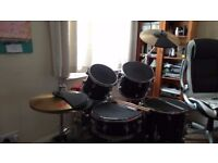 Drum With Silent Mute Pads