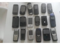 28 Assorted Mobile Phones all fully working