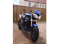 Triumph Speed Triple ABS 1050 - Yr 2014 - Full Spec - 1 owner from new