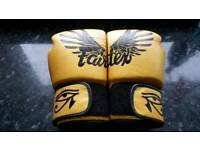 Muay thai fairtex boxing gloves
