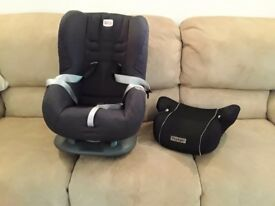 Britax car seat and booster seat