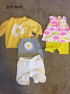 Outfits 3-6mos