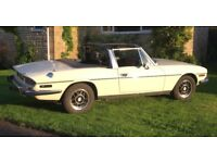 Triumph Stag 3.0 manual white original engine great condition