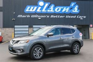2014 Nissan Rogue SL AWD!  LEATHER! NAV! SUNROOF! 360 REAR CAMER