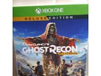 Xbox one ..ghost recon game