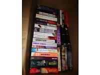 Book selection ( 60+ mixed novels)