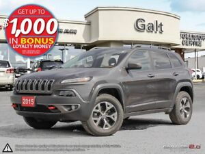 2015 Jeep Cherokee TRAILHAWK | LEATHER | ROOF | NAVI | *ONLY $19