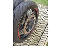 Michelin pilot tyres Yamaha yzf r125
