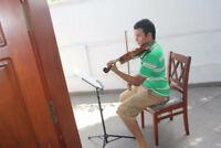 Home visit violin lessons