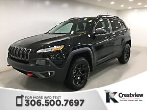 2016 Jeep Cherokee Trailhawk 4x4 V6 | Navigation