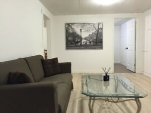 Furnished very clean Dalhousie 2bedrooms suite basement for rent