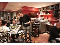 Kitchen assistant needed for busy tapas restaurant