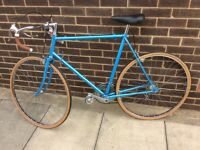 Retro vintage BSA men's racing cycle