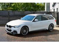 2014 BMW 320D M SPORT F31 ALPINE WHITE TOURING M PERFORMANCE KITTED 8 SPEED F30