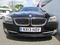 BMW 5 SERIES 2.0 520D EFFICIENTDYNAMICS 4d 181 BHP (black) 2013