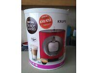Krups Dolce Gusto Oblo Coffee Maker in Red
