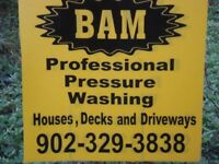 BAM PROFESSIONAL PRESSURE WASHING- ILL MAKE YOUR HOME NEW AGAIN