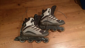 HypnoSkates Roller blades with blade removal.