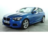 2013 BMW 1 Series 118D M SPORT Diesel blue Manual