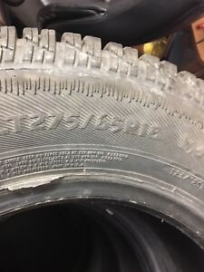 Artic claw studded winter tires.