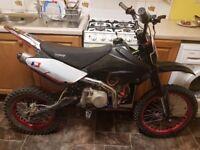140cc stomp pit bike big wheel! mint! Fastt!! pitbike/ dirt bike/ scrambler/ demon x/ thumpstar/ m2r