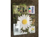 Epson daisy ink, 18XL full pack, UnOpened