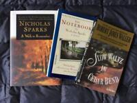 Nicholas Sparks & Robert James Walker Books- Set of 2