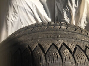 High end winter tires like new