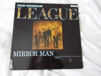 Vinyl 12in 45 Mirror Man / You Remind Me Of Gold / Instrumental – The Human League Virgin VS 522