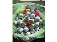 Golf Balls Mixed Bundle x 85 Golf Balls, Titleist, Srixon, Wilson, ETC Lot 6