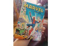 Marvel annual 1974 hardback