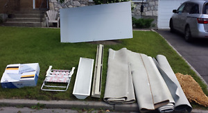 Various items for free - drywall rugs