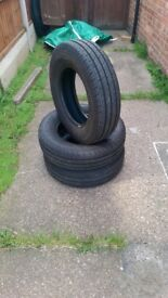 Ford Transit tyres 215/75/16. 10 ply (ideal for vans used for heavy loads)