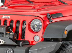"Jeep JK KC HiLiTES 7"" Par 56 LED HeadLights For 2007+"