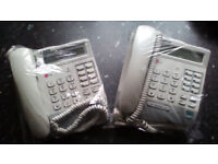 LG LKD 8 Button Display 8DS System Telephones x 2 Office Telephone System