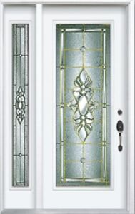 Single Front Entry Door SideLight 1